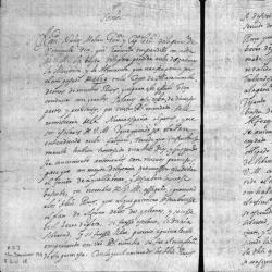 Letter to King Philip IV