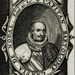 Portrait of Bartolome Garcia de Nodal