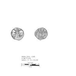 Artifact Drawing - Papal Seal